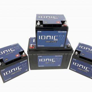 12v/36v-50/125 Ionic Battery Package Deal 1