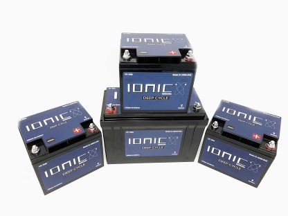 12v/36v-50/125 Ionic Battery Package Deal 1