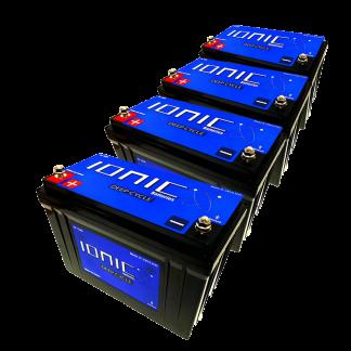 12v/36v-100/125 Ionic Battery Package Deal 2