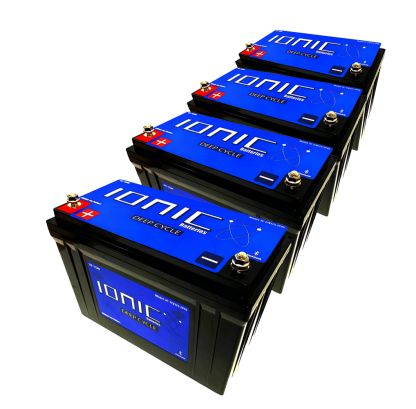 12v/36v-100/125 Ionic Battery Package Deal 2